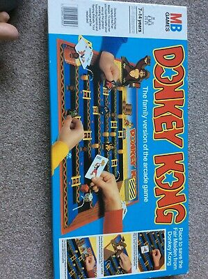 DONKEY KONG BOARD GAME, MB GAMES, 1983, RARE Immaculate Condition • 2.70£