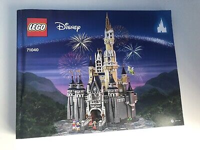 Lego Disney 71040 Disney Castle - INSTRUCTIONS/MANUAL ONLY • 0.99£