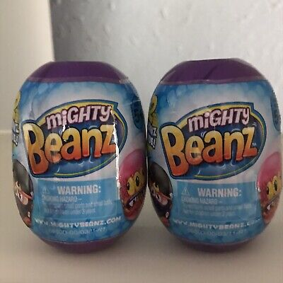 Mighty Beanz 2 Pack Capsule - Purple Set (receive 2 In This Set) • 3.40£