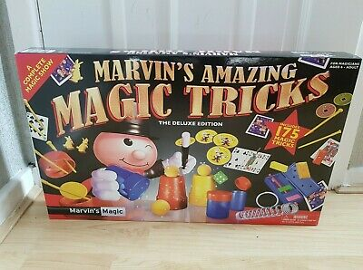 Marvin's Amazing Magic Tricks Deluxe Edition 175 Tricks. New & Sealed • 14.99£