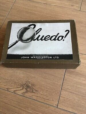 Vintage Cluedo Game Pieces - Wooden And Metal Pieces • 3.30£