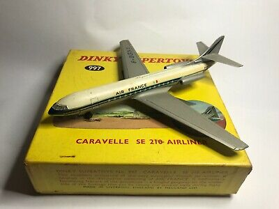 Dinky Caravelle - Air France - Boxed - #997 • 65£