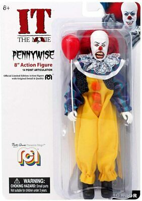 Mego Horror It The Movie Pennywise 8  Action Figure • 15.99£