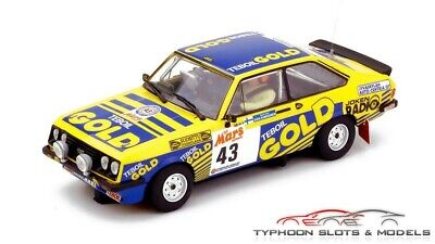 12707 Team Slot Ford Escort MkII RS2000 - 1000 Lakes Rally 1979 - New & Boxed • 54.99£