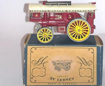 Vintage Matchbox Lesney Toy Models Of Yesteryear Y9 Fowler Steam Showmans Engine • 32.19£