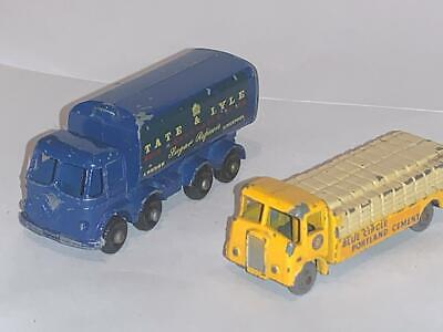 Vintage Matchbox Lesney 1-75 Toy 51 Albion Lorry 10 Foden Sugar Container Truck • 35.87£