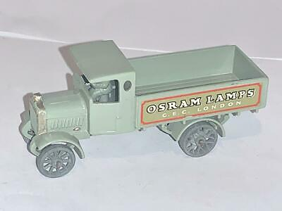 Vintage Matchbox Lesney Toy Models Of Yesteryear Y6 Y Type Aec Lorry Osram Lamp • 21.15£