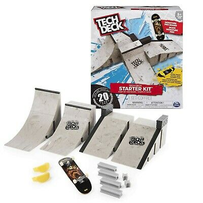 Tech Deck Starter Kit Includes Signature Pro Board & Ramp Set Toy New • 17.99£