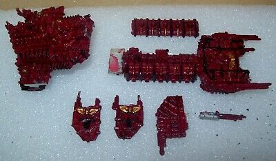 Warhammer 40k Battlefleet Gothic Metal Space Marines Battle Barge • 26£