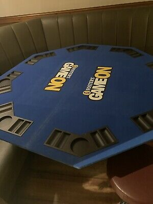 Fosters Game On 8 Player Poker Table • 40£