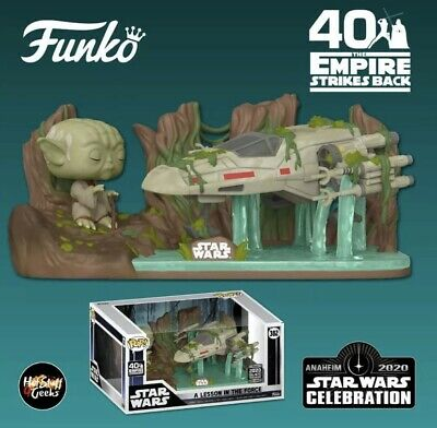 Funko Pop Deluxe Star Wars A Lesson In The Force Yoda & X-wing #382 Exclusive • 49.99£