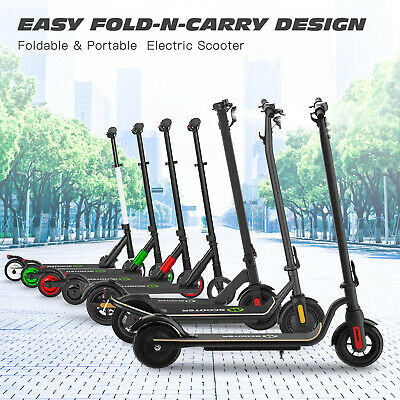 New Adult Kids Electric Scooter Folding Kick E-scooter With Double Brake • 150£