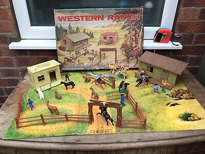 Timpo Western Ranch Plus Fencing And Cowboys • 185£