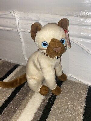 Ty Beanie Babies Collection SIAM Siamese Cat 2000 - With Tags • 1£