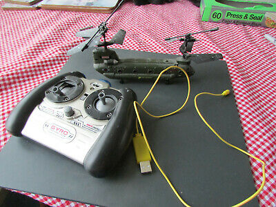Gyro Flyer R/C Chinook Military Helicopter • 41£
