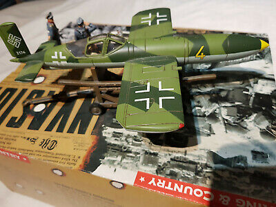 King & Country Set WS100 The Fuhrer's Last Fighter. 1:30 Scale.  • 34£