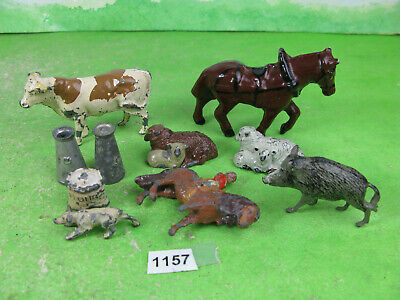 Vintage Johillco Britains Lead Mixed Lot Farm Collectable Models 1157 • 15£