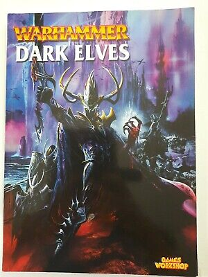 Games Workshop Warhammer Dark Elves Army Book Soft Back Fantasy 2001 Edition • 11.99£