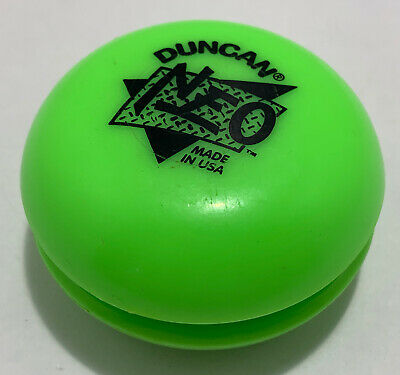 Vintage Duncan Neo Yoyo Green Classic Toy • 2.99£