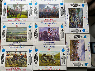 A Call To Arms 1/32  Napoleonic Wars Waterloo Collection 3 - 8 Boxes • 48£
