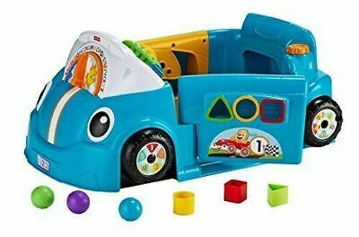 Fisher-Price Laugh & Learn Crawl A Round Car - Blue • 17.50£