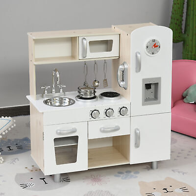 Kids Kitchen Plyset With Accessories Large Simulation Kitchen Cooking Set • 84.99£
