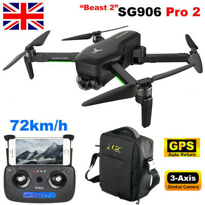 SG906 Pro2 RC Drone 1.2km 4K Camera 3-Axis Gimbal 5G WiFi GPS FPV RC Quadcopter • 155.99£