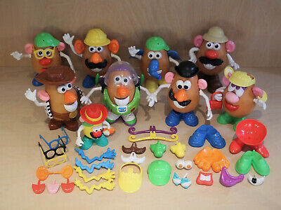 Large Mr Potato Head Figures & Accessories Bundle - Toy Story Buzz Woody - VGC • 49.99£