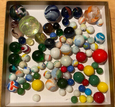 Collection Of Marbles Vintage Collectible • 9.99£