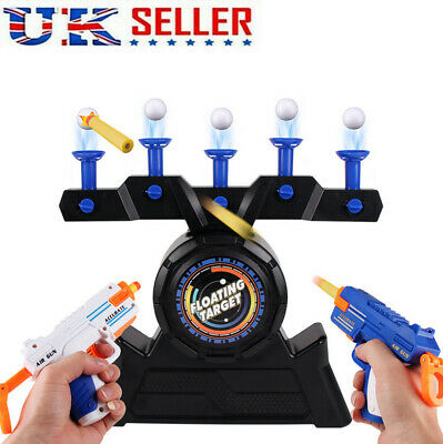 Funny Floating Target Shooting Game Foam Dart Blaster Shooting Ball Toy Kid Gift • 17.95£