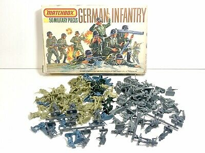 Airfix Matchbox Esci Italeri 1/72 1/76 WWII German Soldiers Job Lot Africa Corps • 3.77£