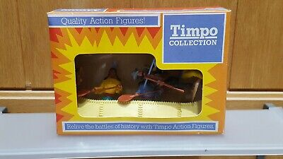 Timpo Toys Last Series(4th) Boxed Set..Cowboys,Indians & Canoe...Mint In Box...  • 33.90£