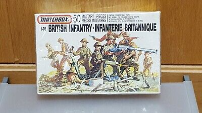 Vintage Matchbox British Infantry 1:76 Scale..Factory Sealed..1989..  • 5.50£