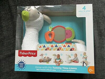 Fisher-Price Grow-with-Me Tummy Time Llama • 15£