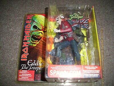 Iron Maiden  Eddie The Trooper Figure  Spawn Macfarlane. Still Sealed • 69.99£