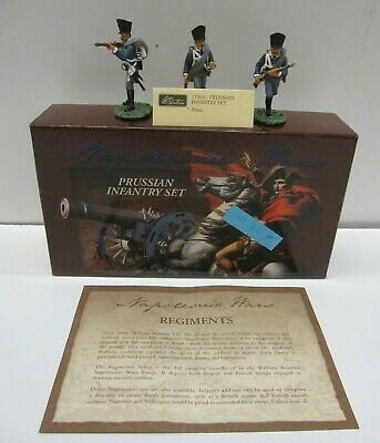 Britains Napoleonic Wars No. 17365 Prussian Infantry Set, In Mint Condition (82) • 19.99£