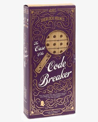 Sherlock Holmes THE CASE OF THE CODE BREAKER Game Of Deduction • 14.99£