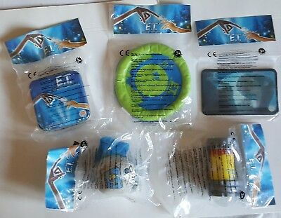 2002 Burger King Uk - E.t. - Complete Set Of 5 Toys Mint In Packet • 9.99£