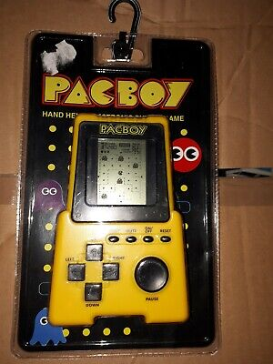 Pacboy Retro Gaming Handheld Console Electronic LCD Screen In Yellow. New • 14.99£