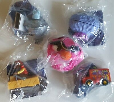 1999 Burger King Uk - Muppets From Space Complete Set Of 5 Toys • 9.99£