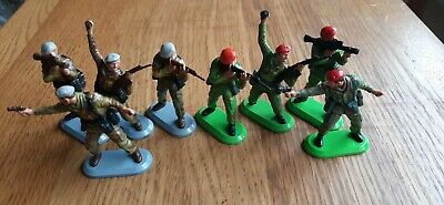 Britains Deetail Toy Soldiers Ww2 PARAS And SAS • 9.99£