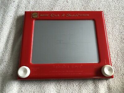 2004 Mattel Magic Etch A Sketch Screen Sababa Toys Retro - Working • 16.99£