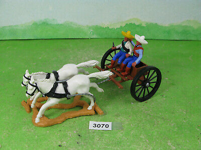 Vintage Timpo Plastic Figures Soldiers Mexican Cart Models 3070 • 10£