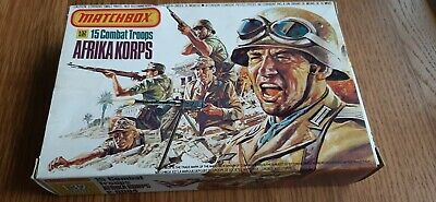 Airfix Matchbox Africa Korp Boxed 1/32 Scale Toy Soldiers • 12.50£