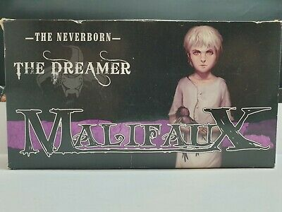 Malifaux: Dreamer Limited Edition Box (Neverborn) OOP Metal • 20£