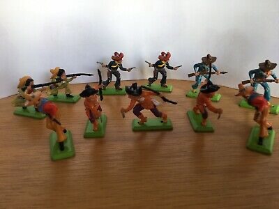 Britain Deetail 1971 Toy Soldiers Mexican Bandidos • 20£