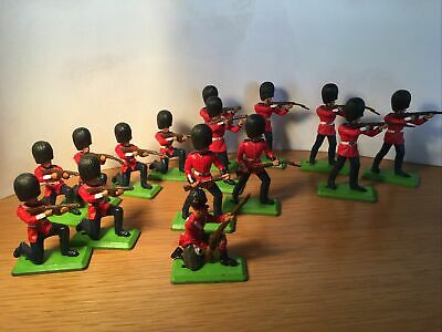 Britains Deetail Toy Soldiers British 1971 • 7.09£