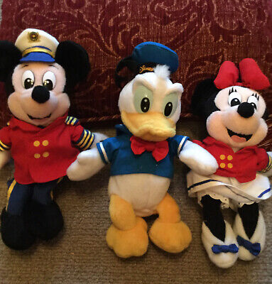 Disney Cruise Line  Minnie,Mickey And Donald  Beanies • 6£