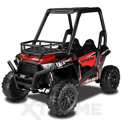 Xtreme BIG 24v Ride On Kids/ Childrens Electric Off Road Buggy UTV Jeep Car Red  • 399.95£
