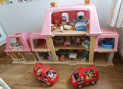 Little Tikes Dolls House And All The Furniture - Collection Only • 180£